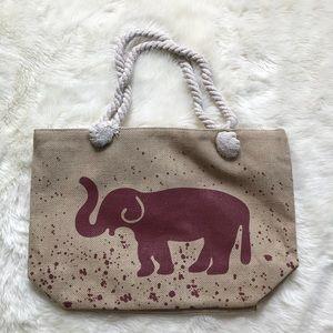 Handbags - ✨LAST ONE ✨ 🆕 Elephant Beach Bag w/ Rope Handles